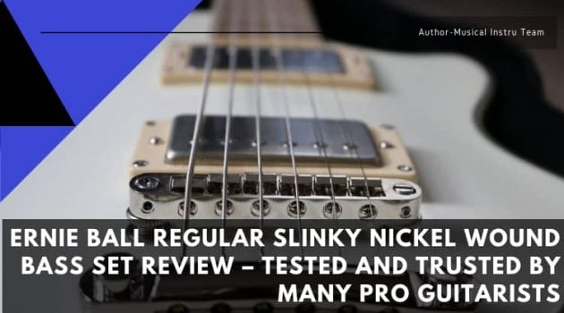 Ernie Ball Regular Slinky Nickel Wound Bass Set Review
