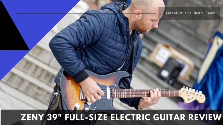 ZENY 39 Full-Size Electric Guitar Review