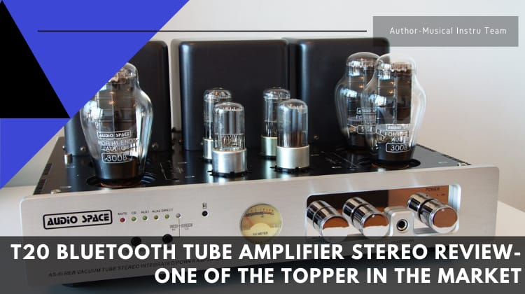 T20 Bluetooth Tube Amplifier Stereo Review