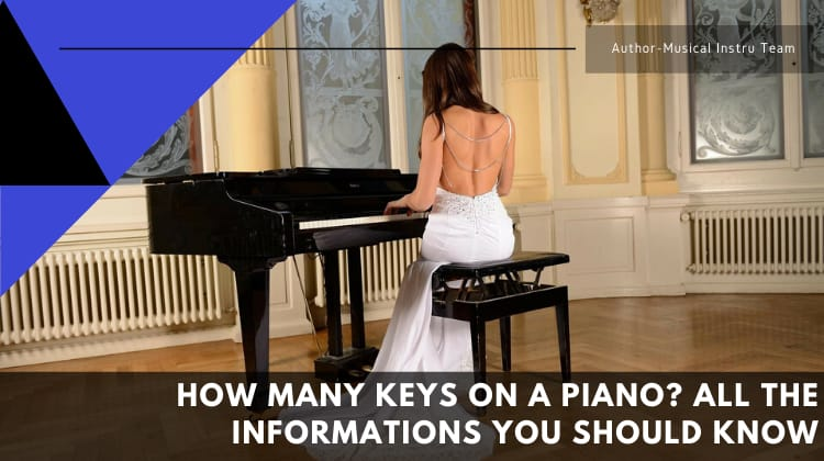 How Many Keys on a Piano