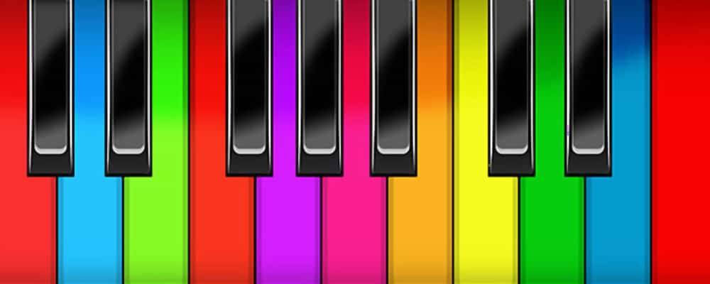 piano virtual key