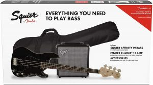 Squier by Fender Affinity Series Precision Bass Beginner Pack