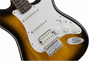 Squier by Fender Bullet Stratocaster Beginner Electric Guitar