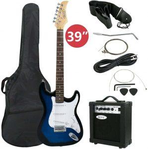 """ZENY 39"""" Full-Size Electric Guitar Beginner Starter Package"""